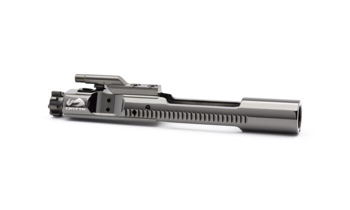 AR15 Steel Bolt Carrier Group - Left Hand - Mystic Black
