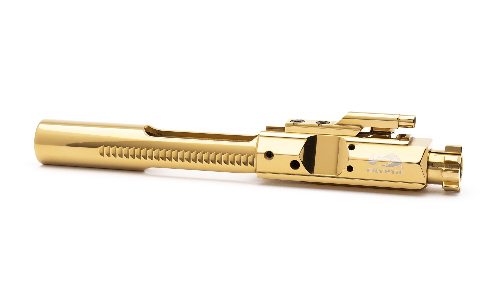 AR10 Steel Bolt Carrier Group - Mystic Gold