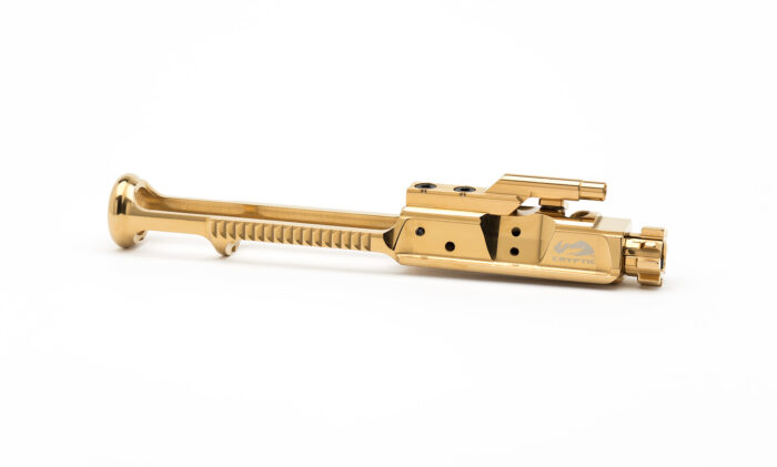 AR15 Low Mass Steel Bolt Carrier Group - Mystic Gold