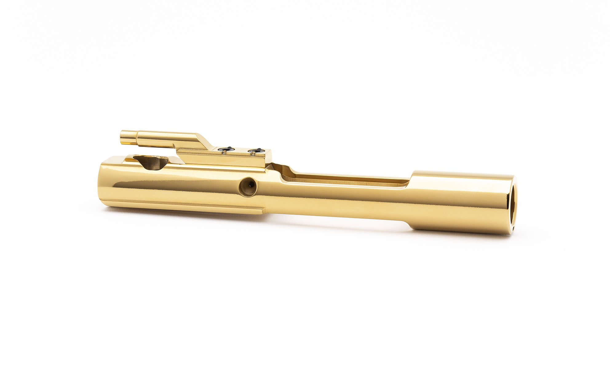 AR15 Steel Bolt Carrier w/ Key - Mystic Gold