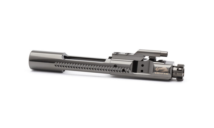 AR15 Titanium Bolt Carrier Group - Mystic Black