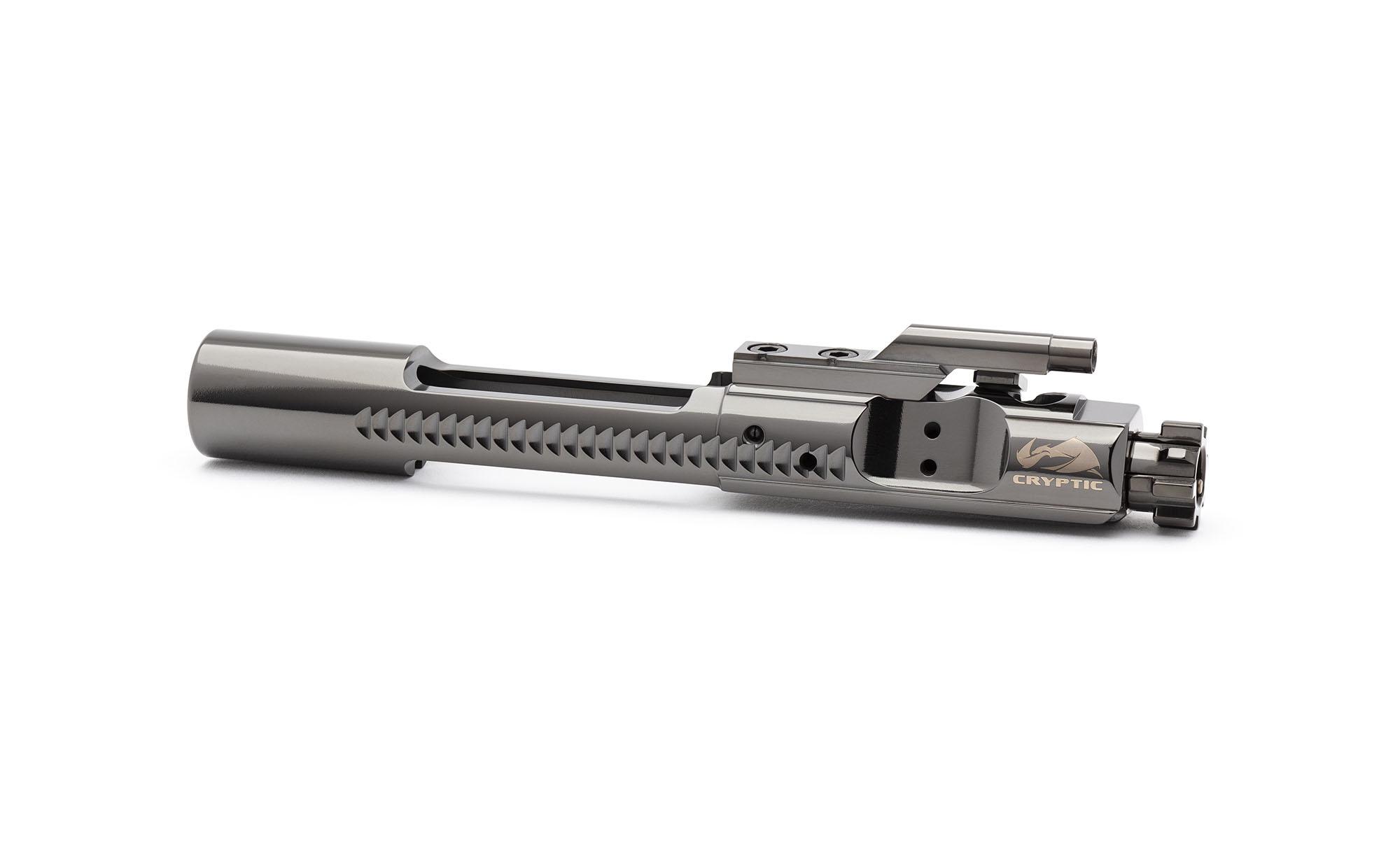 AR15 Titanium Bolt Carrier Group - Mystic Black