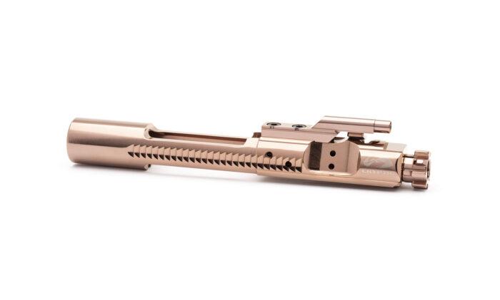 AR15 Titanium Bolt Carrier Group - Mystic Bronze