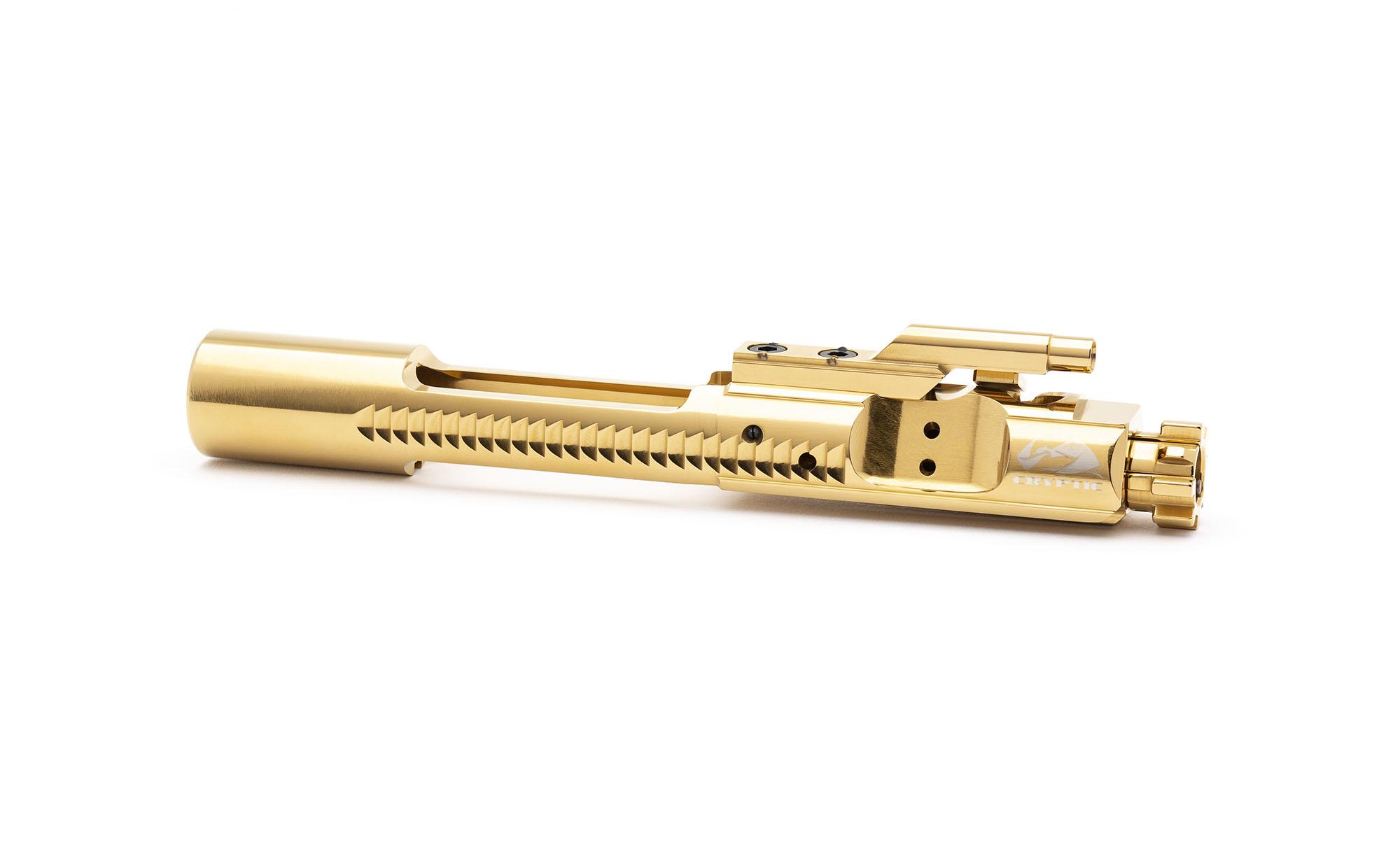 AR15 Titanium Bolt Carrier Group - Mystic Gold