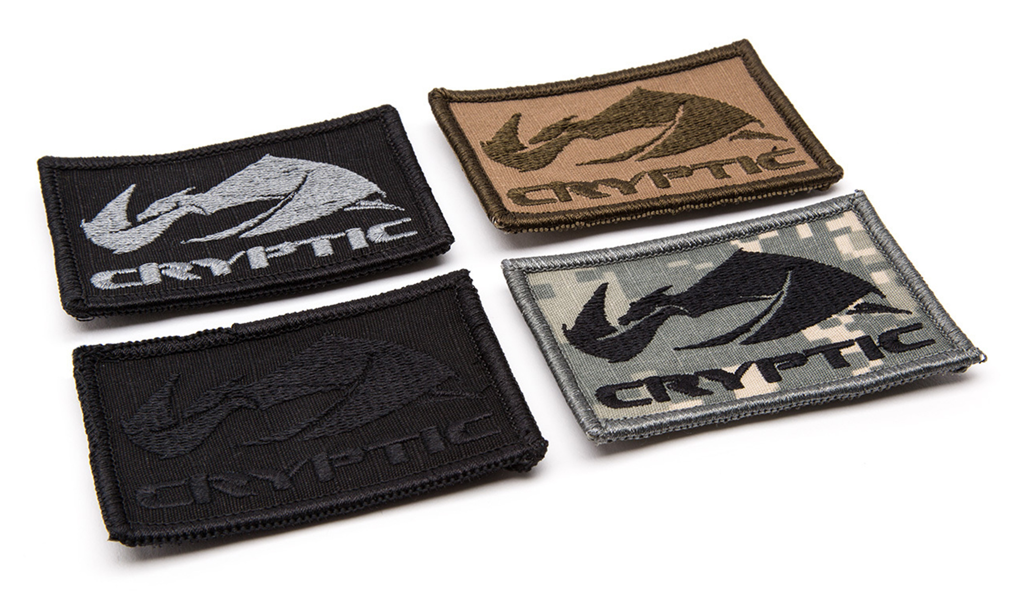Cryptic 3x2 Morale Patches